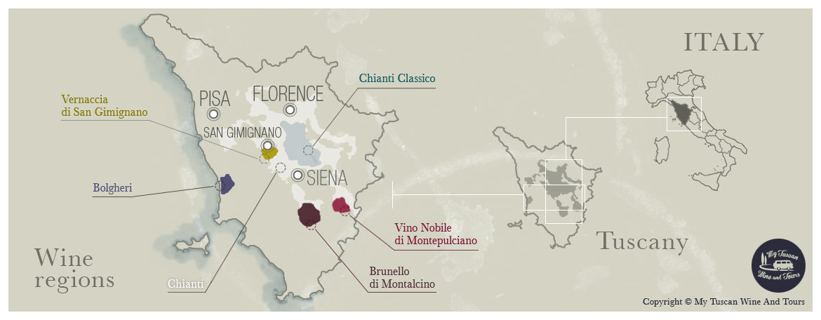 Tuscan Wine Tours Discover Italian Wines A Guide To The Wine